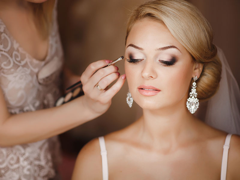 wedding hair and makeup glasgow